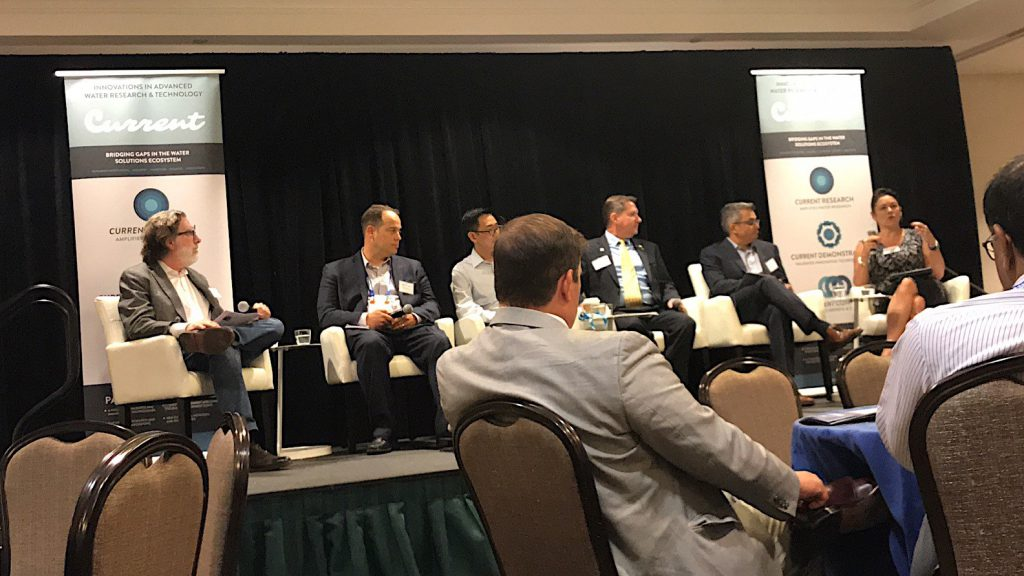 Ari Raivetz speaks about Digital Transformation with his peers at Current water panel in New Orleans.